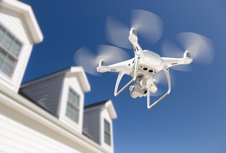 Using a Drone to Sell a Home